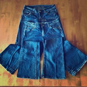 AE Jeans Boyfriend and Hipster size 4-6